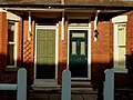 House doors in Limley Grove, Chorlton cum Hardy, Manchester - panoramio.jpg