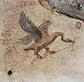 House of the Prince of Naples in Pompeii Plate 137 Cubiculum C Emblem on North Wall MH.jpg