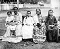 Huahine Royal Family, late 19th century.jpg