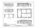 Hubbell Trading Post, Bunkhouse, Ganado, Apache County, AZ HABS ARIZ,1-GANA,1E- (sheet 2 of 4).png