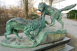 Edward Kemeys - Image: Hudson Wolves Kemeys