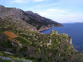 Hvar - The southern coast of Hvar near Sveta Nedjelja