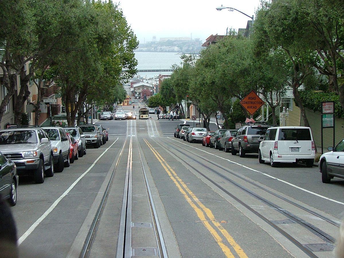 Hyde_Street on 22nd Street San Francisco