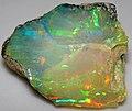 Hydrophane opal (precious opal) dried out (Tertiary; Ethiopia) 1 (32671102646).jpg