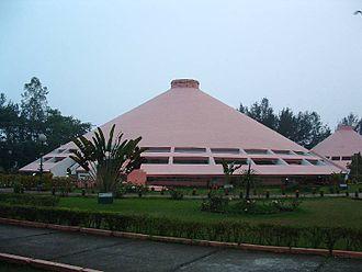 Indian Institute of Management Calcutta - The MCHV building at IIM Calcutta