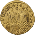 INC-1588-a Солид Михаил III Пьяница ок. 842-867 гг. (аверс).png