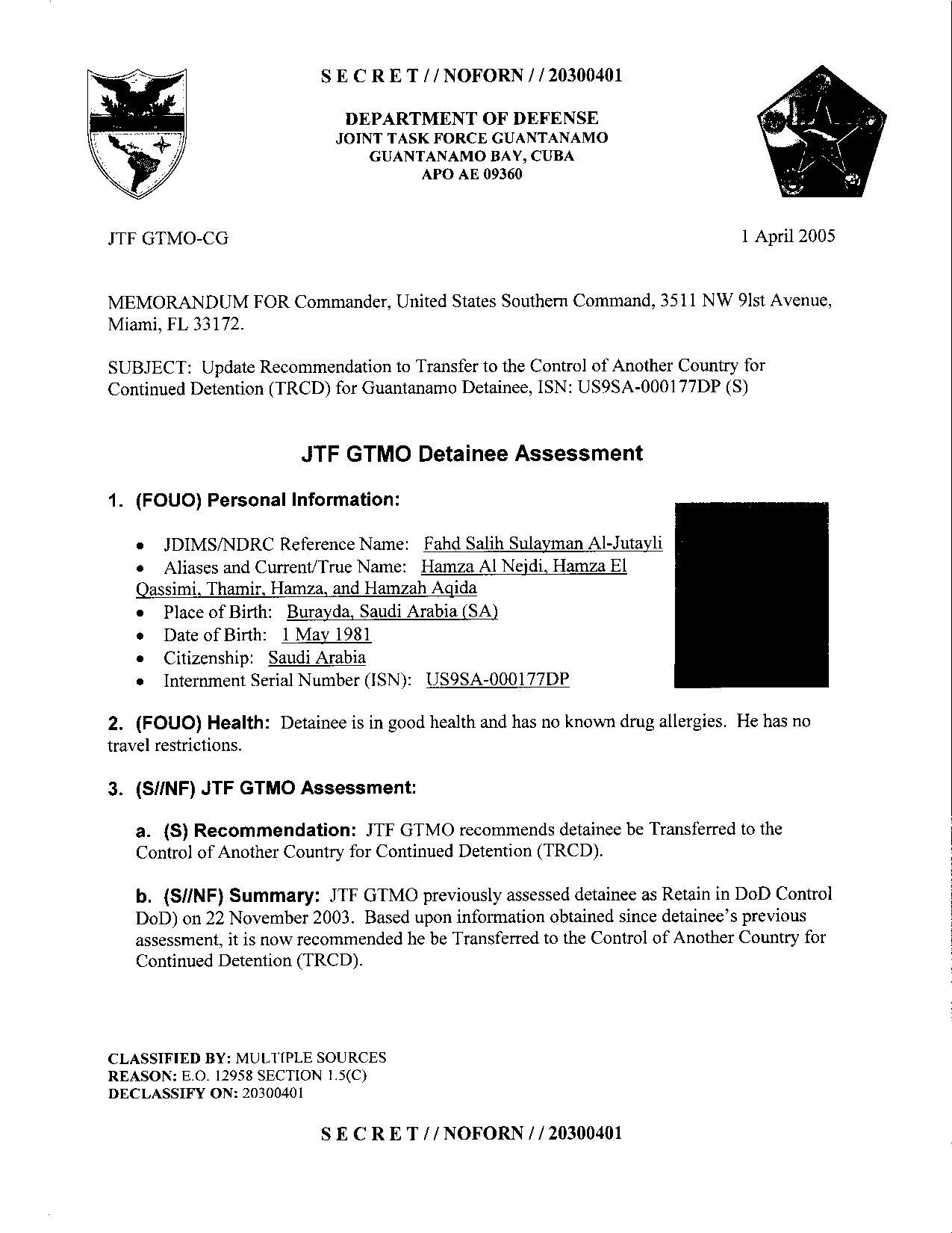 ISN 177's Guantanamo detainee assessment.pdf