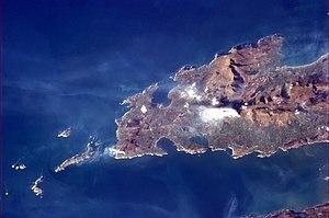 Dingle Peninsula - Dingle Peninsula photographed from the International Space Station
