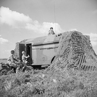AEC Armoured Command Vehicle Type of Armoured command vehicle