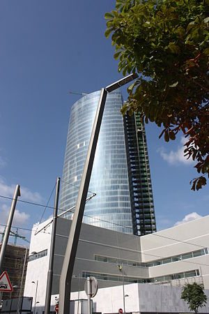 English: Iberdrola Tower, Bilbao, Biscay, Spai...