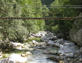 Idrijca - The upper Idrijca River