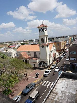 Punto Fijo - Image: Iglesia de Punto Fijo Vista desde Arriba