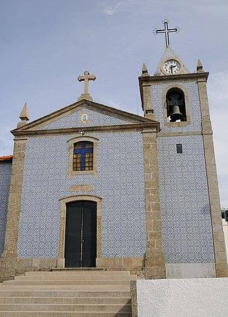 Nogueira, Fraião e Lamaçães - Image: Igreja Lamacaes