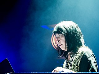 Ikue Mori Japanese drummer, electronic musician and composer