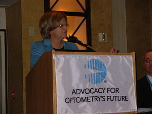 Ileana Ros-Lehtinen - Ros-Lehtinen was an original author of the Vision Care for Kids Act. She is also an original cosponsor of the Vision Preservation Act.