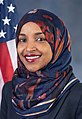 Ilhan Omar, official portrait, 116th Congress (cropped).jpg