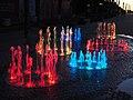 Illuminated fountain in Jurmala 1.jpg