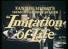 Caràtula d'Imitation of Life (1959)