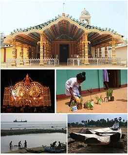 Polikandy Town in Sri Lanka