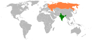 India–Russia relations Diplomatic relations between the Republic of India and Russia