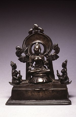 Padmavati (Jainism) - Image: Indian Mandala of Padmavati Walters 543007