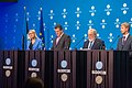 Informal meeting of Energy and Transport Ministers (TTE). Energy Ministers press conference (37204252101).jpg