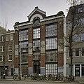 Ingangsportaal van voormalige synagoge, gevel met hoge puien van glas en ijzer - Amsterdam - 20408342 - RCE.jpg