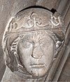 Ingiburga of Sweden (daughter of Hacon) bust 2009 Linköping (2) crop.jpg