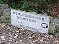 Inscribed stone at Durlston Country Park - geograph.org.uk - 1627752.jpg