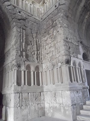 Umayyad Palace - Inside the monumental gateway