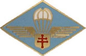 2nd Parachute Chasseur Regiment - Image: Insigne en tissu des Forces Française Libre