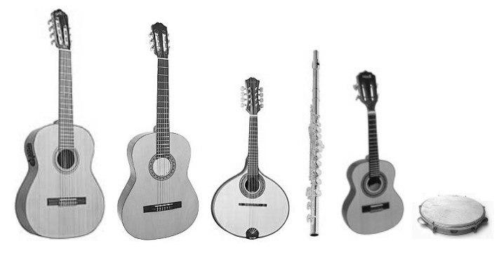 Instrumentos choro