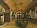 Interieur van de zaal van het genootschap 'Kunst wordt door Arbeid verkregen' te Leiden Rijksmuseum SK-A-3834.jpeg