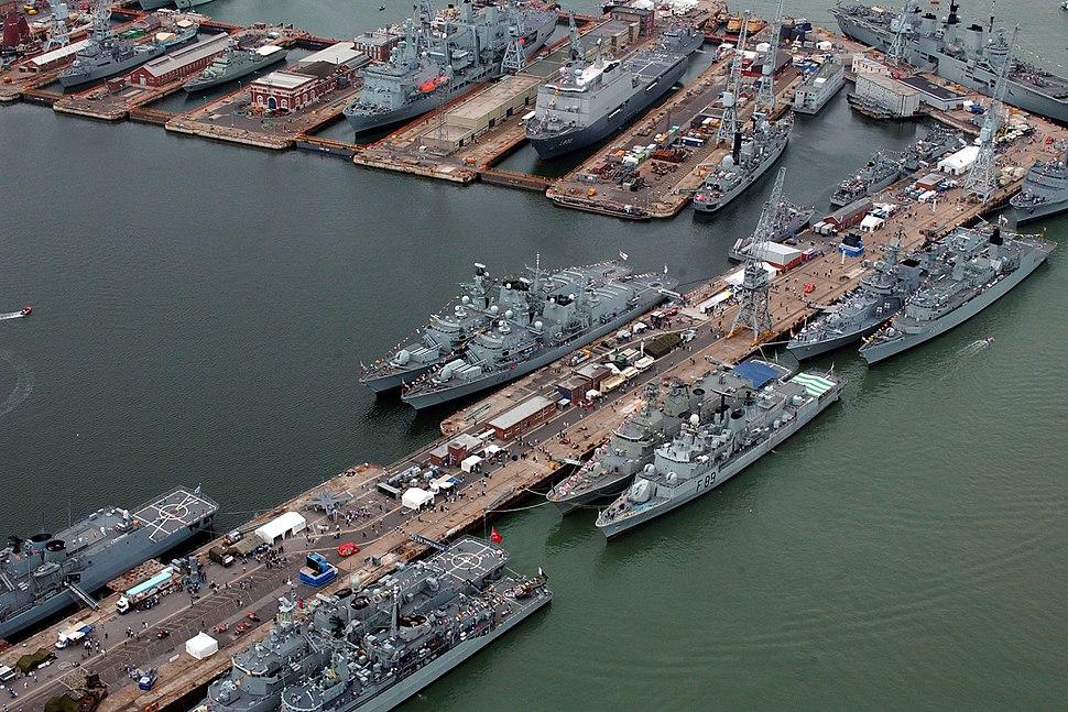 International Fleet Review. MOD 45144668