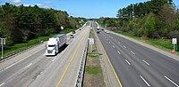 Interstate 95 northbound, Kittery ME.jpg