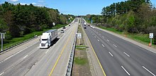 Interstate 95 northbound, Kittery ME.jpg