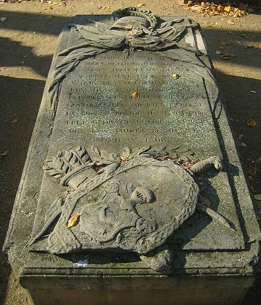 File:Invalidenfriedhof, Grabmal von Schütz.jpg