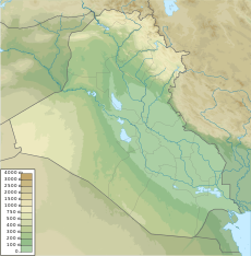 सामर्रा is located in Iraq