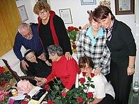 Irena Sendlerowa 2005.02.15 ceremony