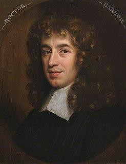 Isaac Barrow English Christian theologian, and mathematician