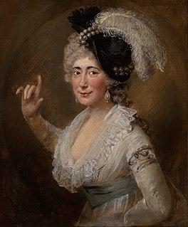 Isabella Mattocks English actress and singer (1746-1826)