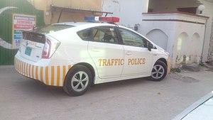 Islamabad Traffic Police - Image: Islamabad Traffic Police Toyota Prius 2016