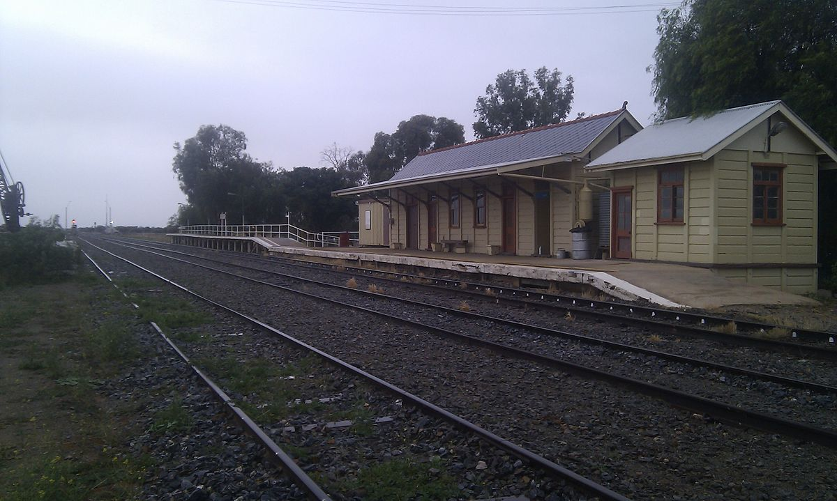 Ivanhoe Railway Station New South Wales Wikipedia