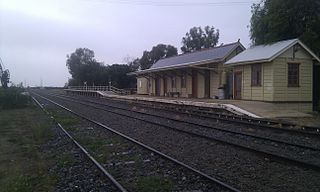 Ivanhoe railway station, New South Wales