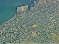 Iyomishima district Shikokuchuo city center area Aerial photograph.1975.jpg