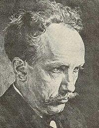 József Faragó (1866-1906) hungarian graphic artist Self-portrait.jpg