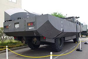 JGSDF Type94 Beach Minelayer Vehicle 20120520-05.JPG