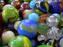 Marbles Of Diffe Sizes And Types