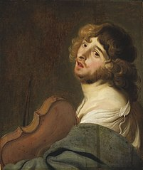 The Violinist (The Allegory of Hearing)