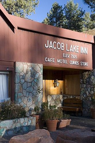 Jacob Lake, Arizona - Jacob Lake Inn in 2007